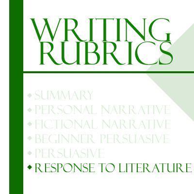 Research paper grading rubrics